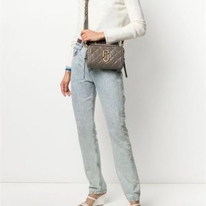 Marc Jacobs Softshot Quilted Leather Camera Bag
